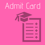 exam admit card