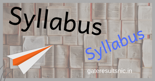 latest exam syllabus