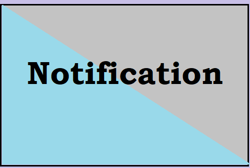 notification